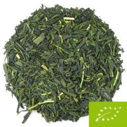 feuilles de thé vert japonais kabusecha Yakushima