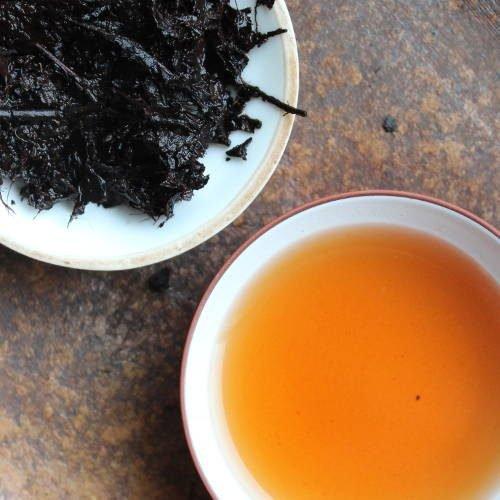 infusion de thé pu-erh