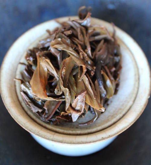 thé oolong noir du Vietnam
