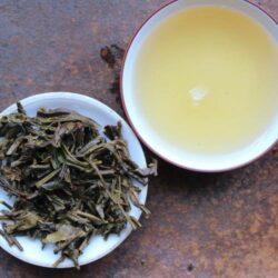 Infusion de thé puerh vert Zhaijichafang