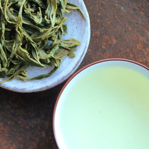 infusion du thé vert Hunan