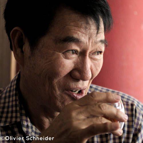 Lao Lee producteur de thé à Wawee en Thaïlande