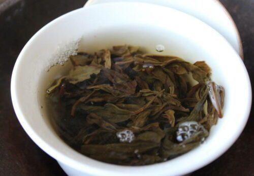 Thé vert Luigui infusé au zhong