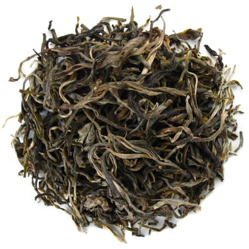 thé pu-erh de jeunes arbres Thailande